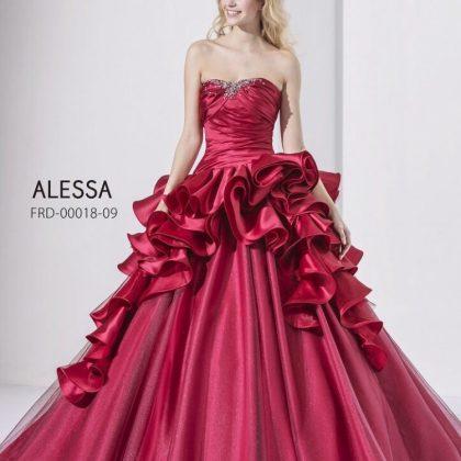 ALESSAのカラードレス