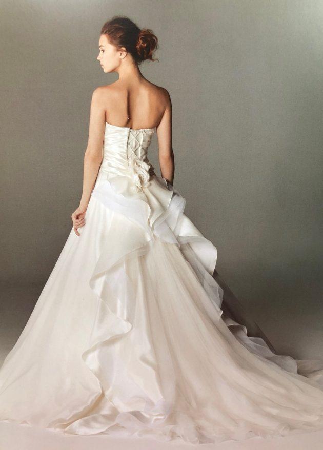 インポートのウエディングドレス