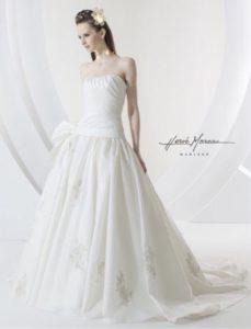 Herve Moreauエルベ・モローのウエディングドレス