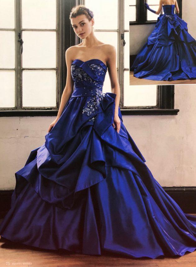HARTNELLのカラードレス