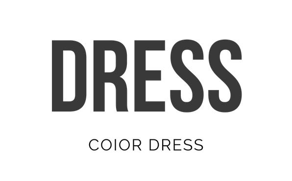 ドレスとカラードレスのロゴ