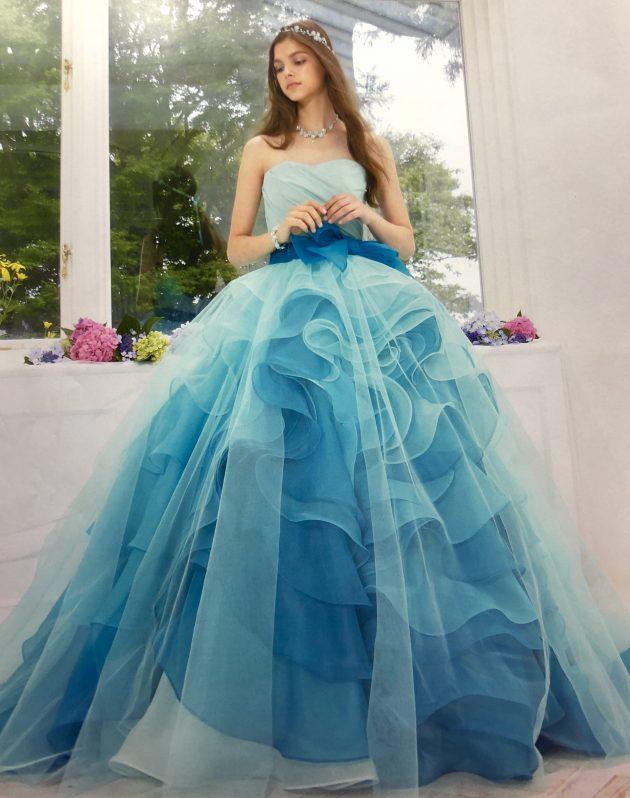 KIYOKO HATAのカラードレス