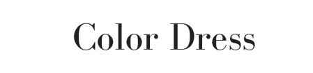 カラードレスのロゴ