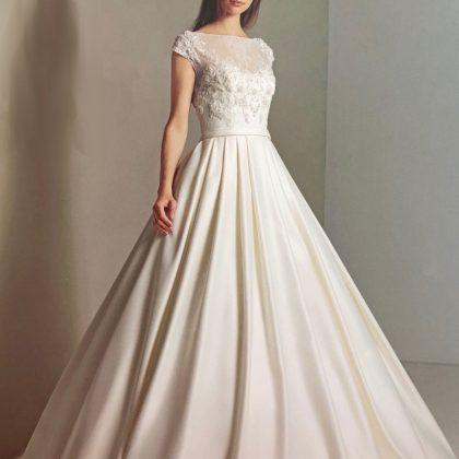 ジョセリンブランシェAラインのウエディングドレス