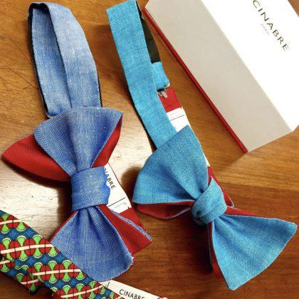 シナーブルの蝶ネクタイ
