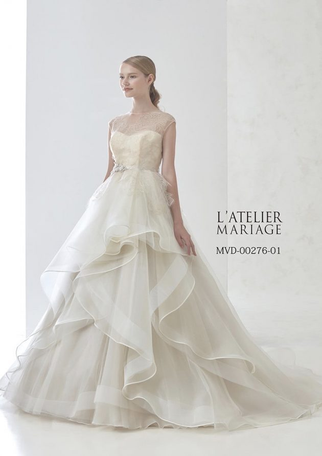 ラトリエマリアージュのウエディングドレス