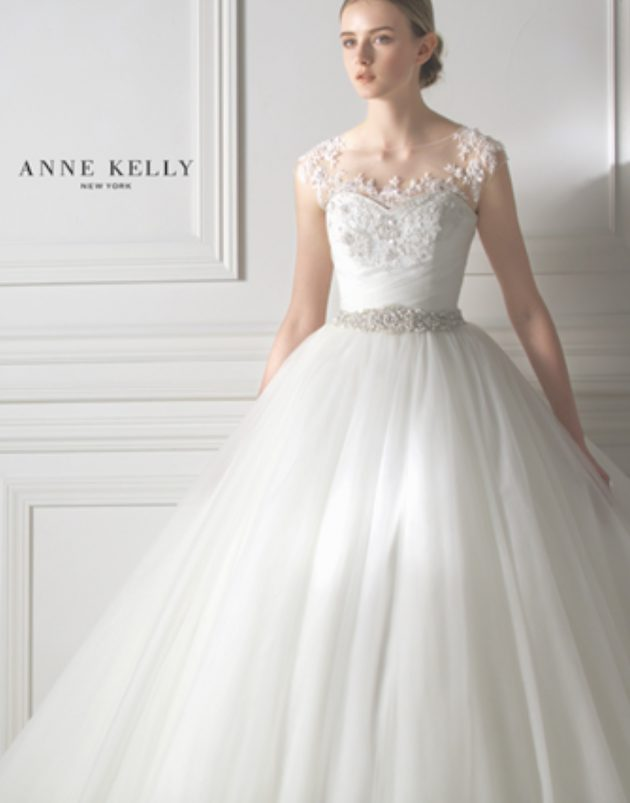 アンケリーニューヨークのウエディングドレス
