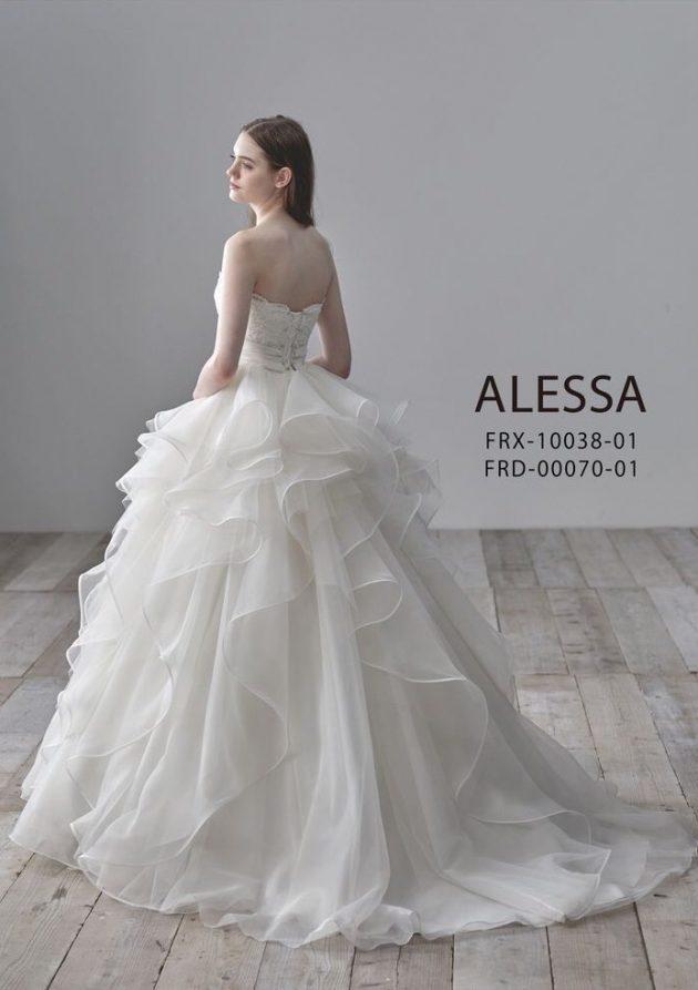 ALESSAのウエディングドレス