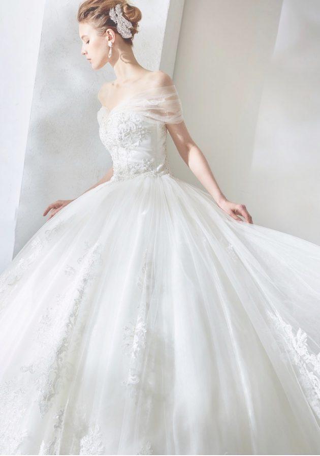 ビクトリアプリンセスカのウエディングドレスのウエディングドレス