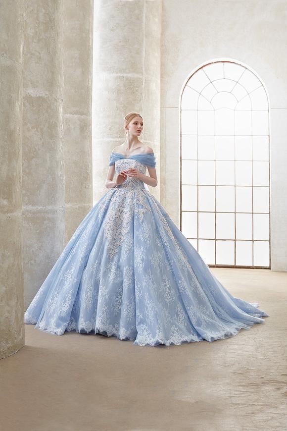 ビクトリアプリンセスカのカラードレス