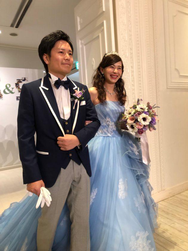キヨコハタのカラードレスとレンタルタキシード