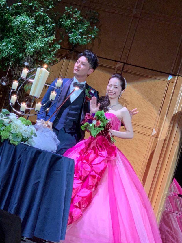レンタルカラードレスとレンタルタキシード